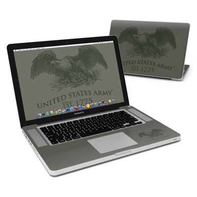 MacBook Pro 15in Skin - Army Crest