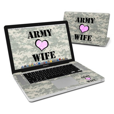 MacBook Pro 15in Skin - Army Wife
