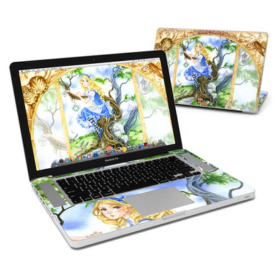 MacBook Pro 15in Skin - Alice's Tea Time