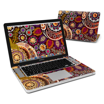 MacBook Pro 15in Skin - Autumn Mehndi