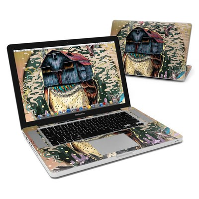 MacBook Pro 15in Skin - Barn Owl Fortune