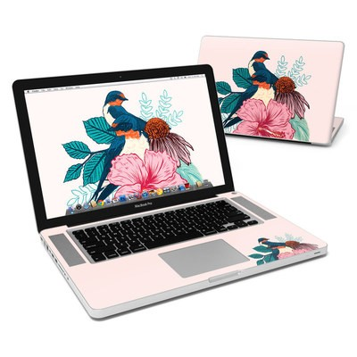 MacBook Pro 15in Skin - Barn Swallows