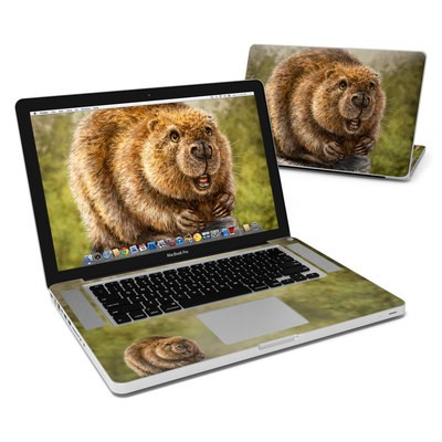 MacBook Pro 15in Skin - Beaver Totem