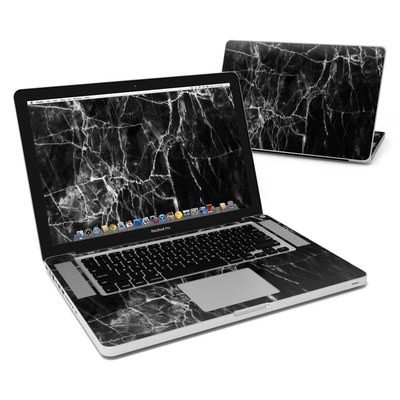 MacBook Pro 15in Skin - Black Marble