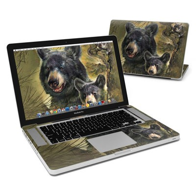 MacBook Pro 15in Skin - Black Bears