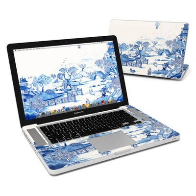 MacBook Pro 15in Skin - Blue Willow