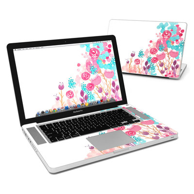MacBook Pro 15in Skin - Blush Blossoms
