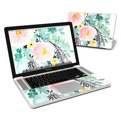 MacBook Pro 15in Skin - Blushed Flowers