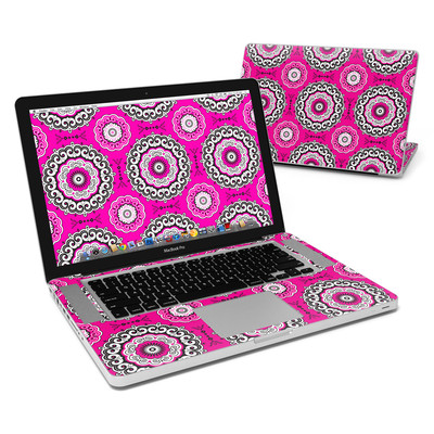 MacBook Pro 15in Skin - Boho Girl Medallions