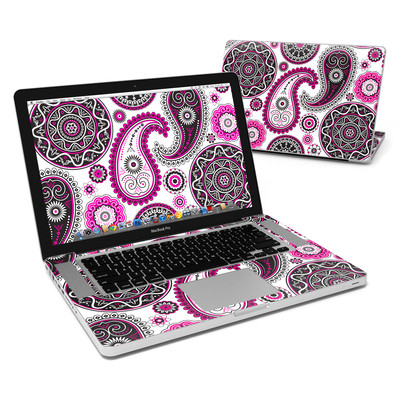 MacBook Pro 15in Skin - Boho Girl Paisley