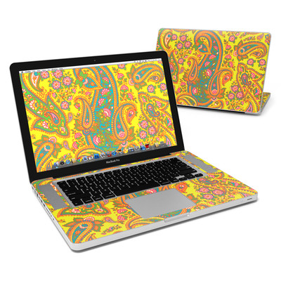 MacBook Pro 15in Skin - Bombay Chartreuse