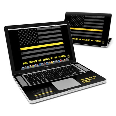 MacBook Pro 15in Skin - Brave is Free