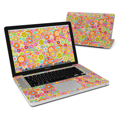 MacBook Pro 15in Skin - Bright Ditzy
