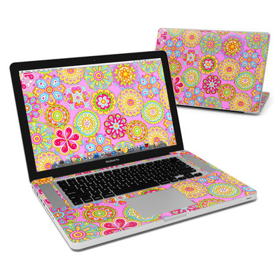 MacBook Pro 15in Skin - Bright Flowers