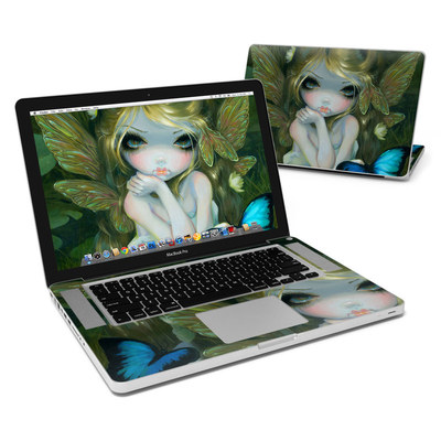 MacBook Pro 15in Skin - Butterfly Lily