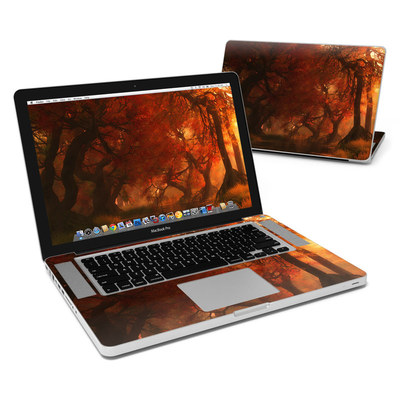 MacBook Pro 15in Skin - Canopy Creek Autumn