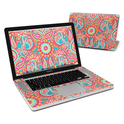 MacBook Pro 15in Skin - Carnival Paisley