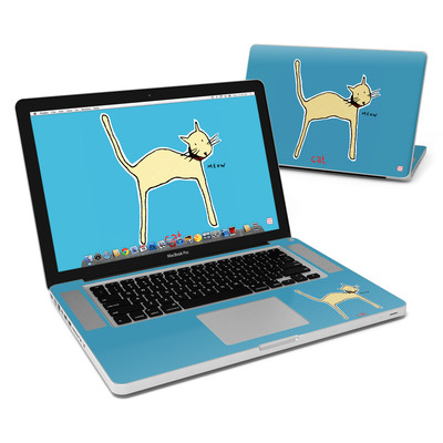 MacBook Pro 15in Skin - Cat
