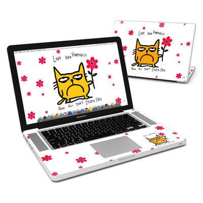 MacBook Pro 15in Skin - Catwad Happy