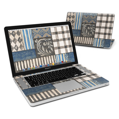 MacBook Pro 15in Skin - Country Chic Blue