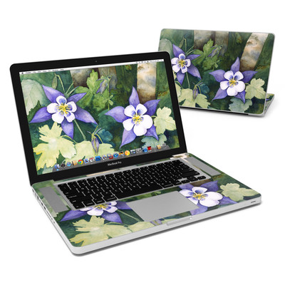 MacBook Pro 15in Skin - Colorado Columbines