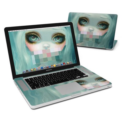 MacBook Pro 15in Skin - Censored Smile