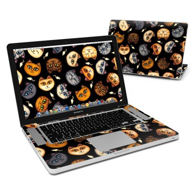 MacBook Pro 15in Skin - Cat Faces