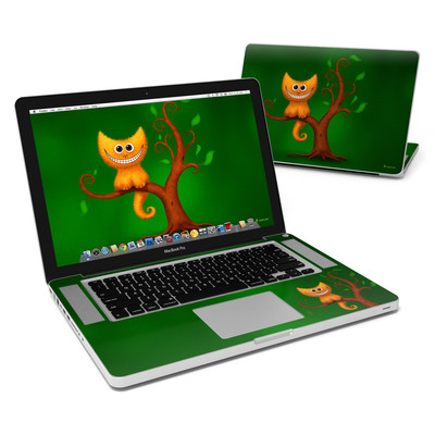 MacBook Pro 15in Skin - Cheshire Kitten