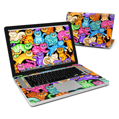 MacBook Pro 15in Skin - Colorful Kittens