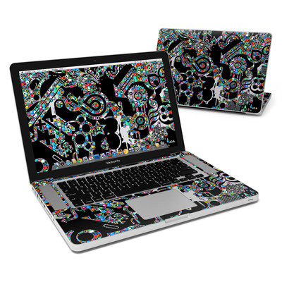 MacBook Pro 15in Skin - Circle Madness