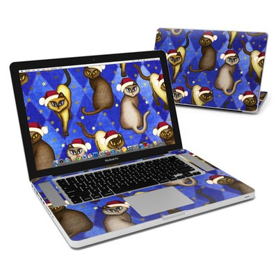 MacBook Pro 15in Skin - Christmas Cats