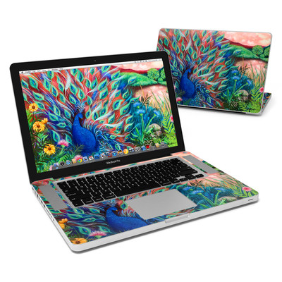 MacBook Pro 15in Skin - Coral Peacock