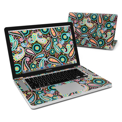 MacBook Pro 15in Skin - Crazy Daisy Paisley