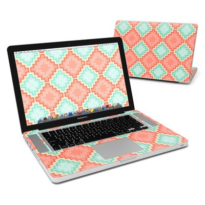MacBook Pro 15in Skin - Coral Diamond