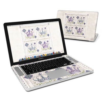MacBook Pro 15in Skin - Purple Crown