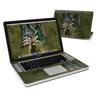 MacBook Pro 15in Skin - Deer Flag