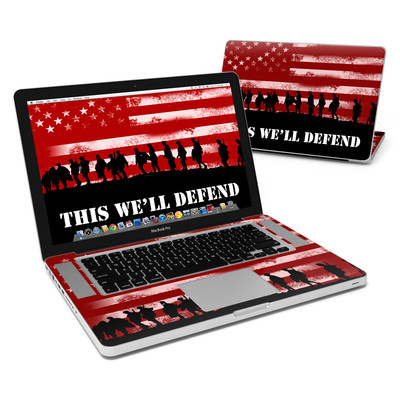 MacBook Pro 15in Skin - Defend
