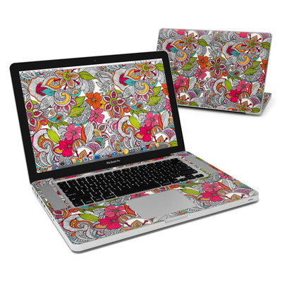 MacBook Pro 15in Skin - Doodles Color