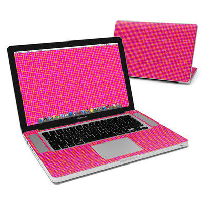 MacBook Pro 15in Skin - Dots Pink