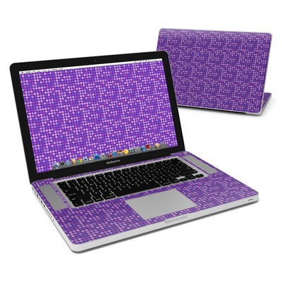 MacBook Pro 15in Skin - Dots Purple
