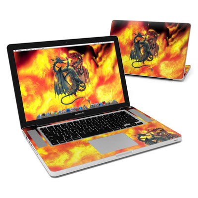 MacBook Pro 15in Skin - Dragon Wars