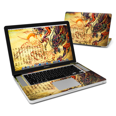 MacBook Pro 15in Skin - Dragon Legend
