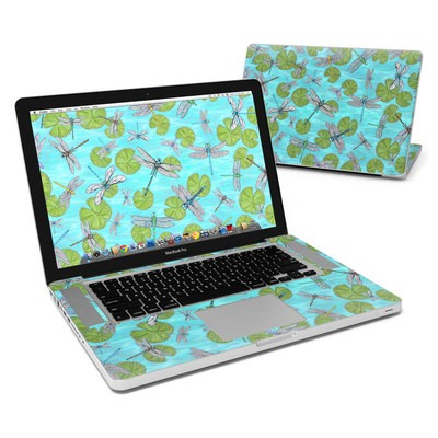 MacBook Pro 15in Skin - Dragonflies Over Pond