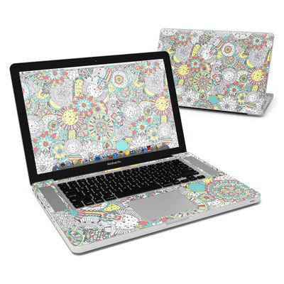 MacBook Pro 15in Skin - Faded Floral