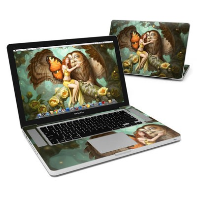 MacBook Pro 15in Skin - Fairy and Owl