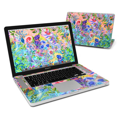 MacBook Pro 15in Skin - Fantasy Garden