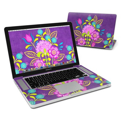 MacBook Pro 15in Skin - Floral Bouquet