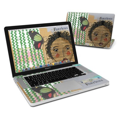 MacBook Pro 15in Skin - Fearless Heart