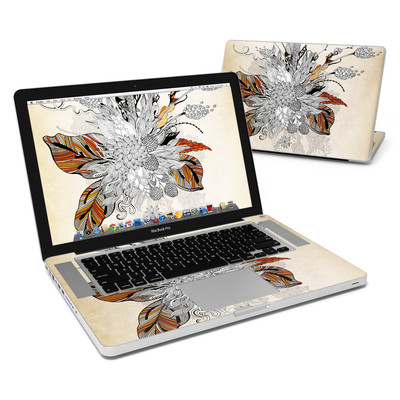 MacBook Pro 15in Skin - Fall Floral