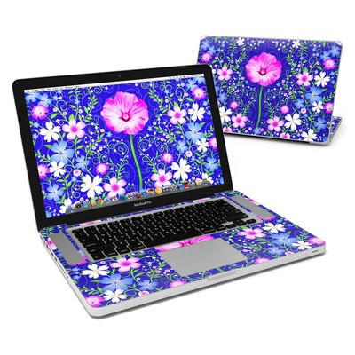 MacBook Pro 15in Skin - Floral Harmony